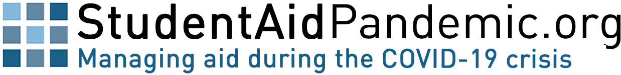 Student Aid Pandemic logo